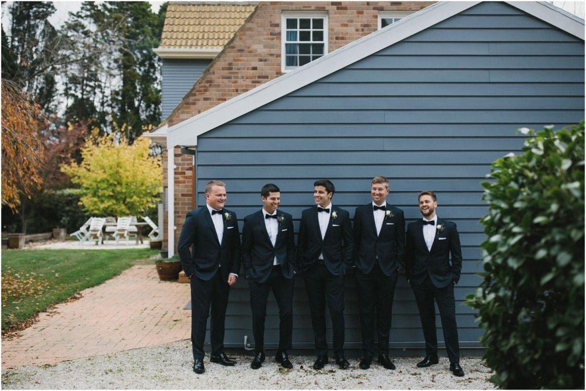 A wedding at Birchgrove Cottages Bowral