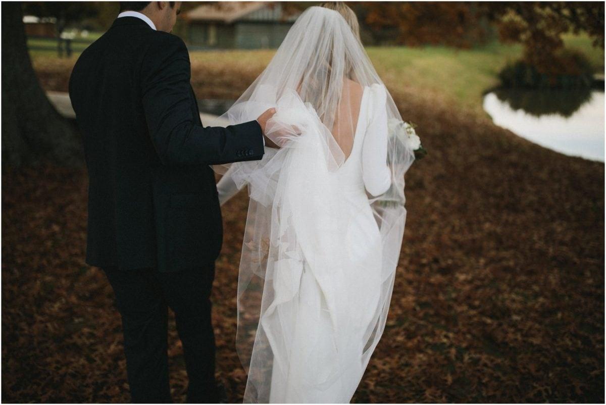 Bride and groom at Bendooley Estate