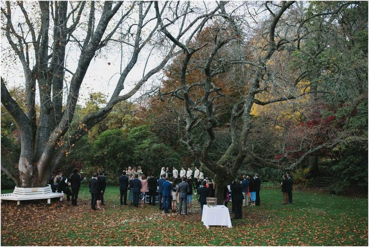 Milton Park Bowral wedding ceremony location