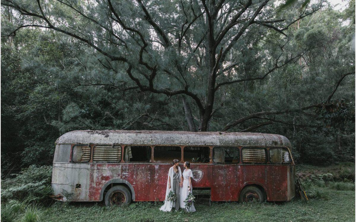 Kangaroo Valley Wedding  |  Bec + Amy's same-sex wedding