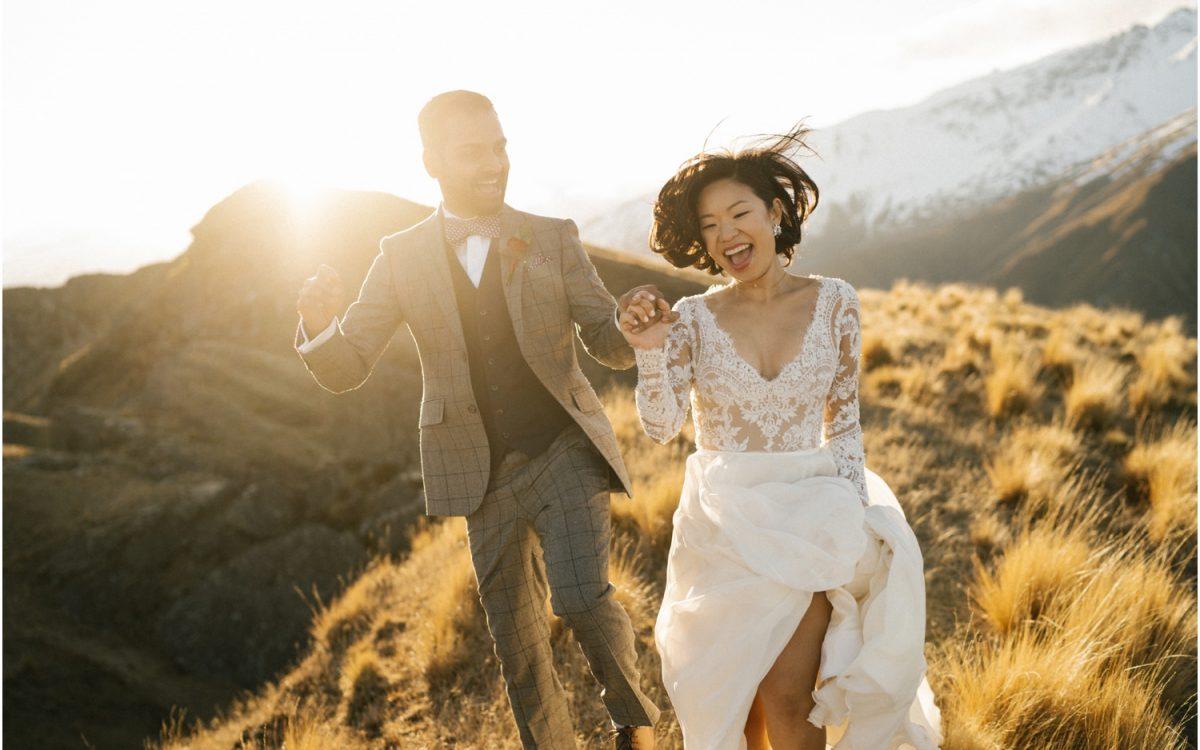 Rippon Wanaka Wedding - Idelia + Ram